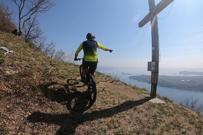 Electric mountain bike tour in the amazing mountains above Toscolano Maderno