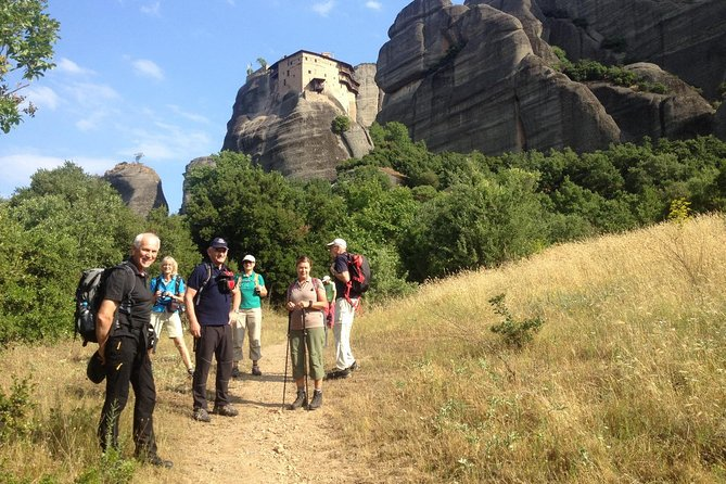 Hiking in magnificent Meteora photo 2