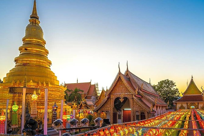 Lamphun and Lampang City Temples Small Group Tour – Full Day