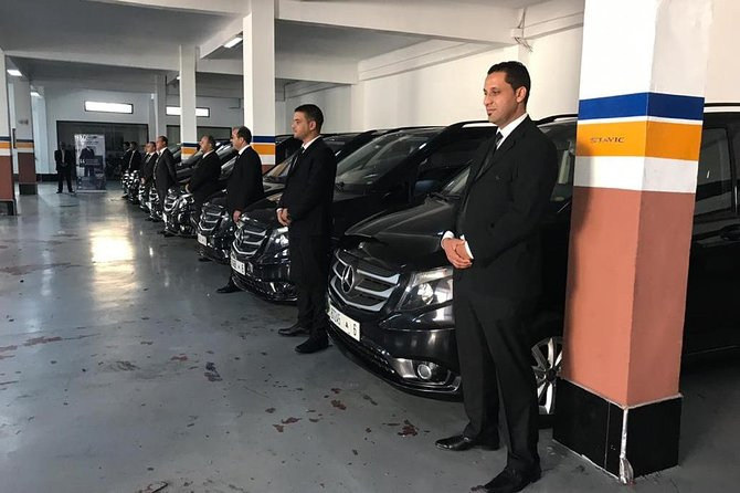 Private transfer: Mohammed V airport to the city of Casablanca
