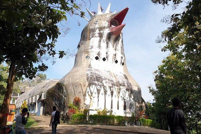 Chicken Church Local Attraction Near Of Borobudur Temple