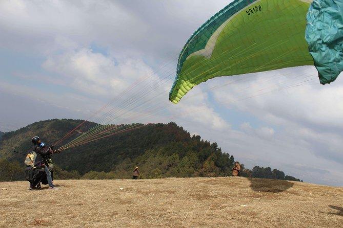 Paragliding in Kathmandu Valley