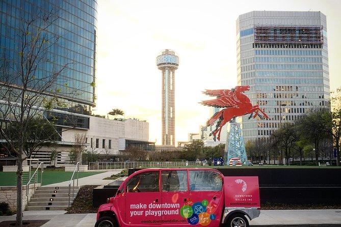 Passeio pela cidade no centro de Dallas
