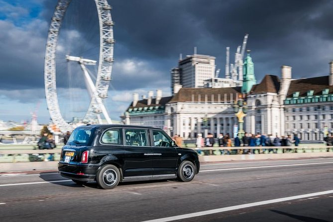 South Tour of London by the traditional Electric Black Taxi (Electocab Ltd)