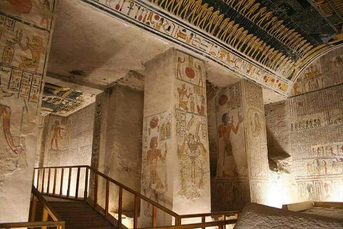Full day Tour to West Bank include Medinet Habu and the Valley of Nobels photo 8