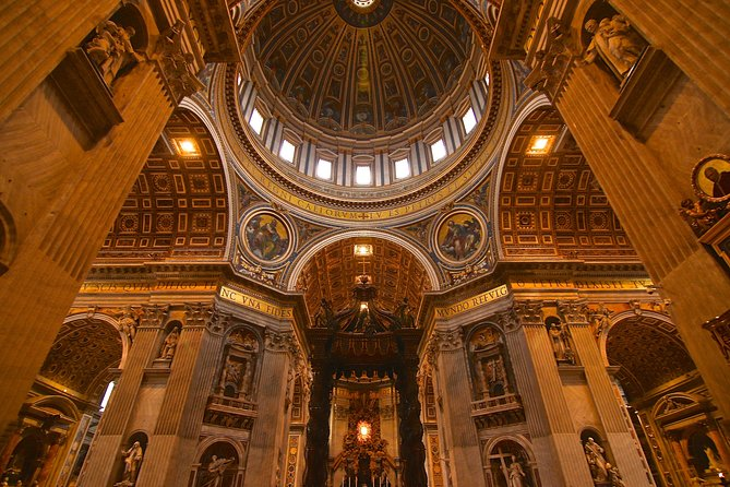 Ultimate St. Peter's Basilica Dome Climb and Tour with Papal Crypts photo 8