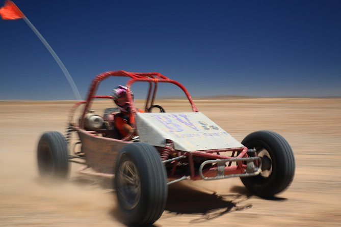 A Thrilling Dune Buggy Chase at the Vegas Dunes for Part Two.