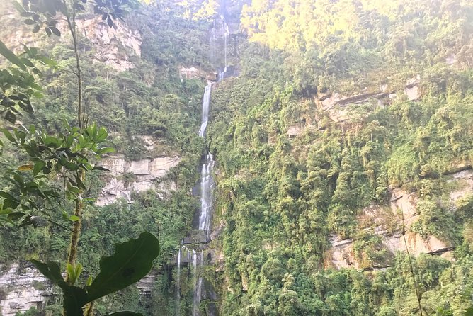 Hike to the highest colombian fall (la chorrera and chiflon)
