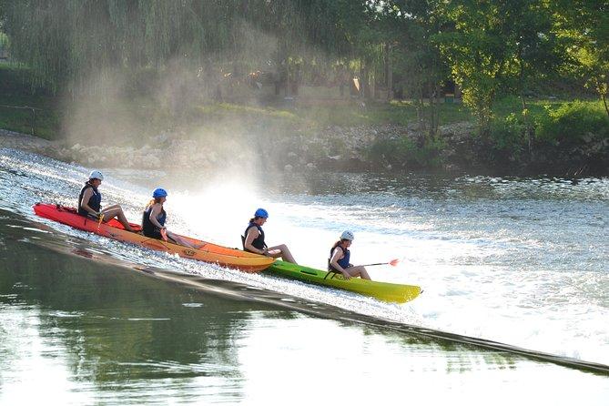 Kayaking- Kayak through town
