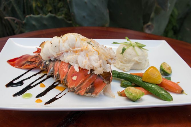 Lobster Tail dinner with a Private Chef in your villa/condo in Cabo or San Jose