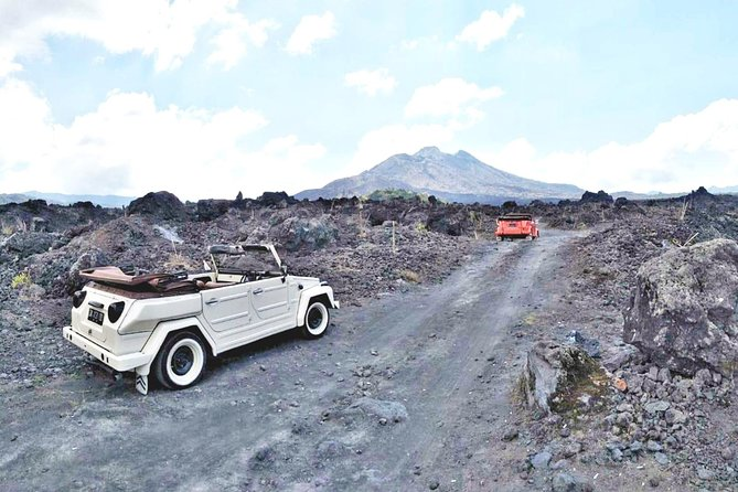 Volkswagen Drive Winding Through Batur Caldera