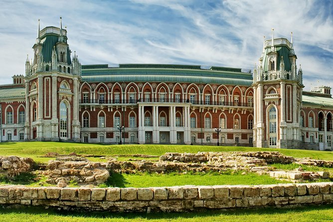 Tsaritsyno Park 3-Hour Guided Tour with Hotel Pickup