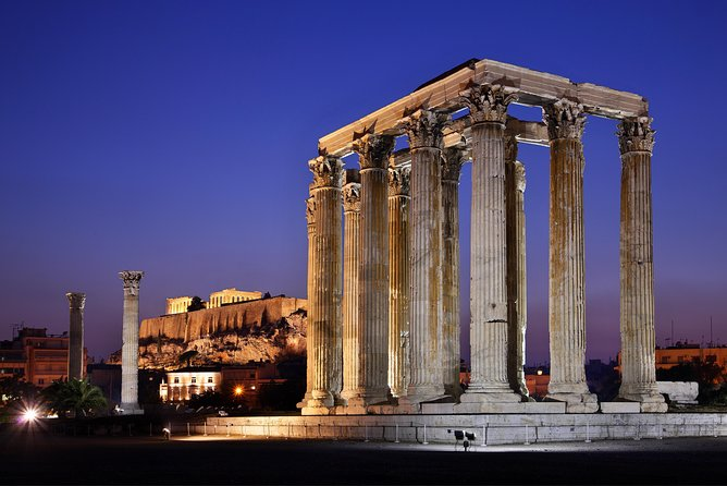 Skip the Line: Temple of Olympian Zeus Entrance Ticket