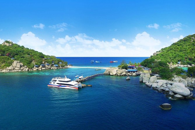 Koh Tao to Chumphon by Lomprayah High Speed Catamaran