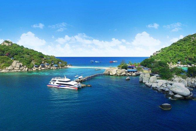 Koh Tao to Koh Phangan by Lomprayah High Speed Catamaran