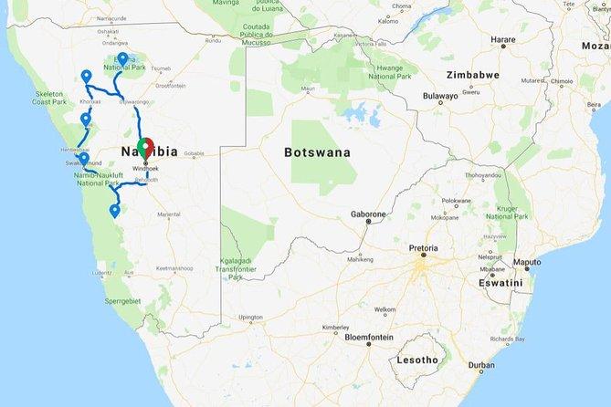 10 Days Namibia Explorer Accommodated Adventure
