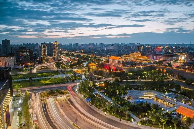 Xi'an Downtown Hotel To Xi'an North Railway Station one way private transfer