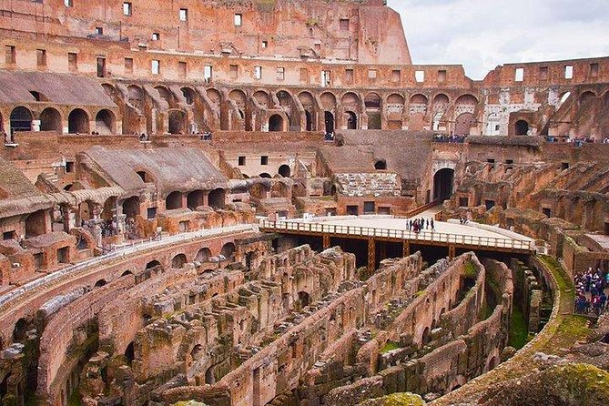 Colosseum ticket with host