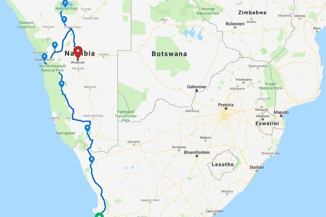 12 Days Cape & Namibia Accommodated Adventure