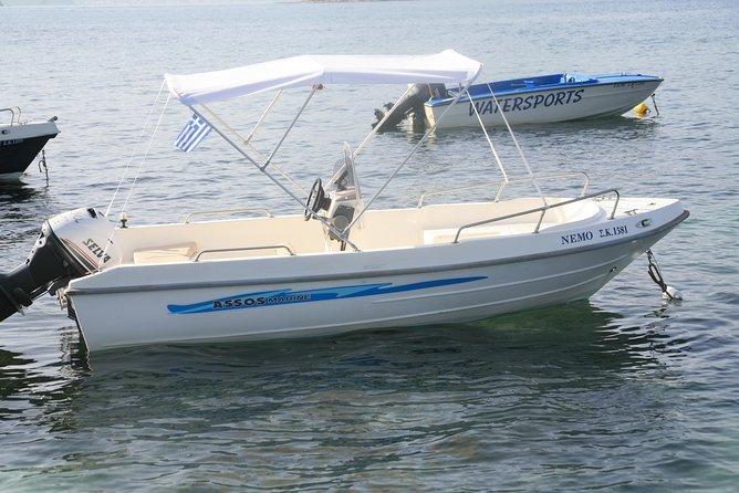 Motor boat hire Nemo 30hp