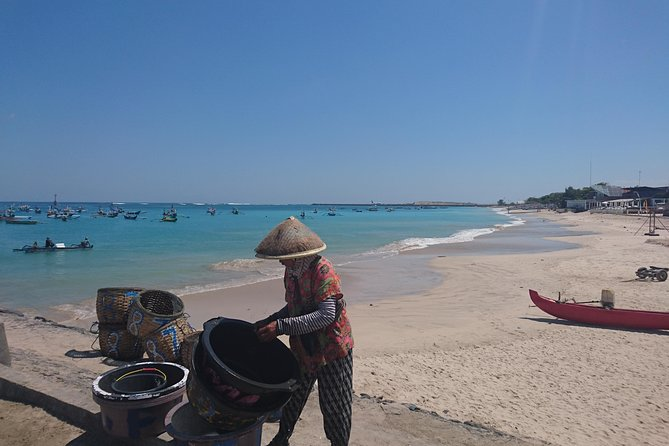 Bali Traditional Fish Market and Hopping Beach