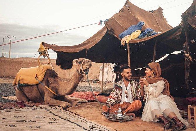 Art Dinner in Agafay desert