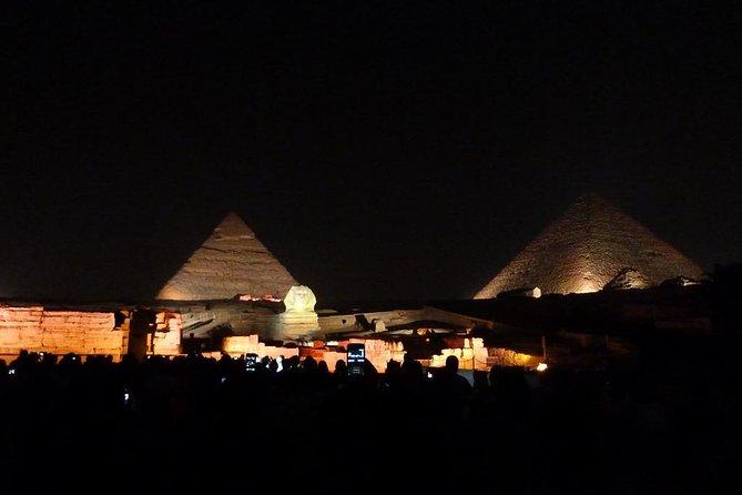 sound and light show Giza pyramids Overview