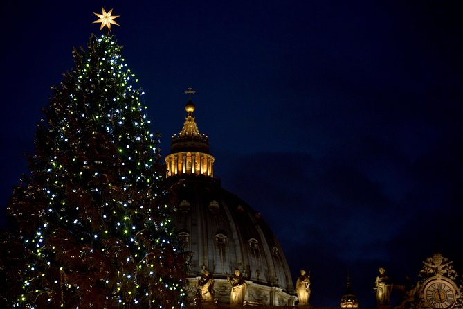 Christmas Eve Mass at the Vatican with Pope Francis Private Tour