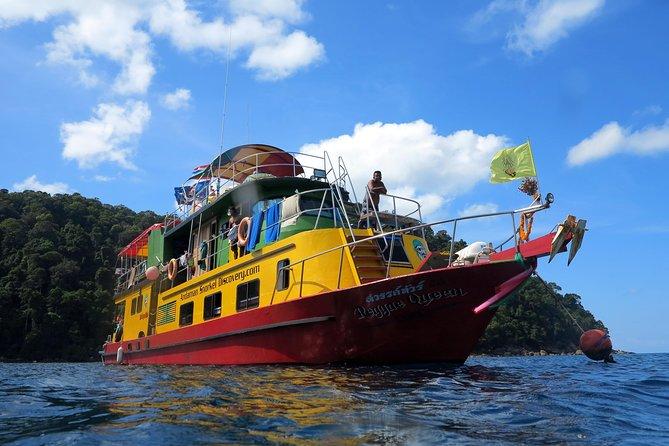 4-days Snorkel Live-aboard to Bon,Tachai & Surin Islands from Khao Lak