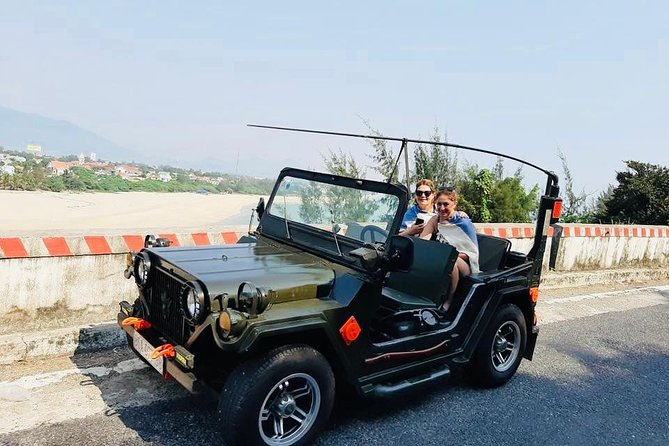 US Army Jeep Car & Driver: Half day Visit Hoi An Local Villages