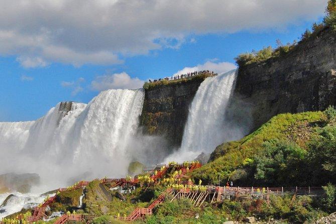 Epische Niagara Falls-tour van een hele dag door de VS en Canada plus lunch
