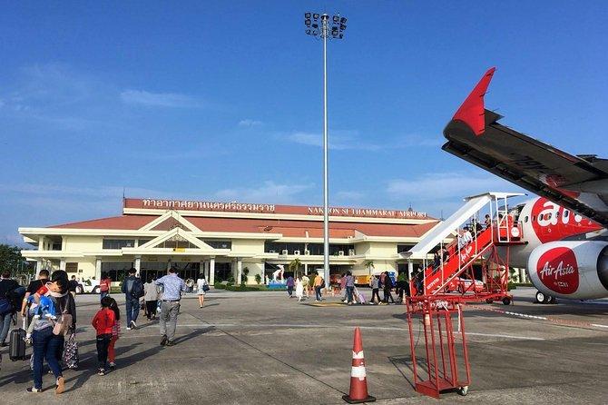 Nakhon Si Thammarat Airport to Koh Tao by Minivan and Lomprayah Catamaran
