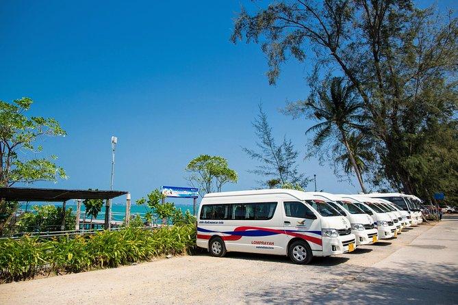 Phuket to Koh Samui by Lomprayah Coach and High Speed Catamaran