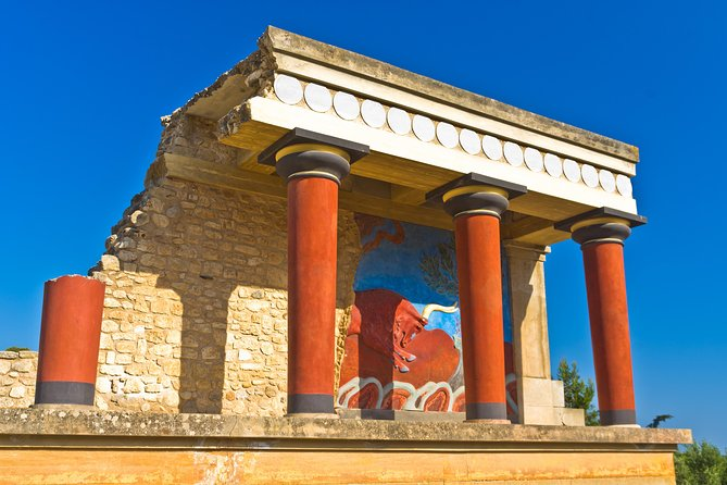 Skip the Line: Knossos Palace and Archaeological Site Entrance Ticket