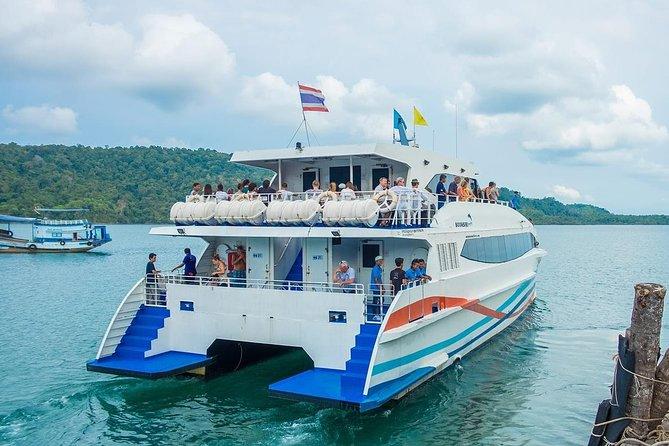 Bangkok to Koh Chang by Boonsiri Bus and High Speed Catamaran