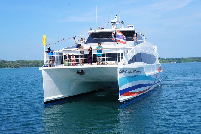 Koh Chang to Koh Mak by Boonsiri High Speed Catamaran