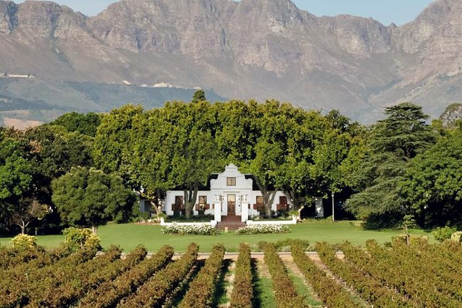 Cape Town City tour / The Wineland Tour - Full Day