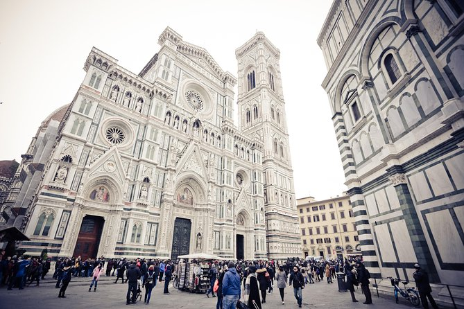 Unesco Jewels:Florence from Rome by high speed train & Uffizi entrance