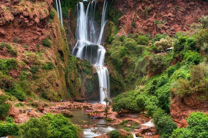 Trip to Ozoud waterfall