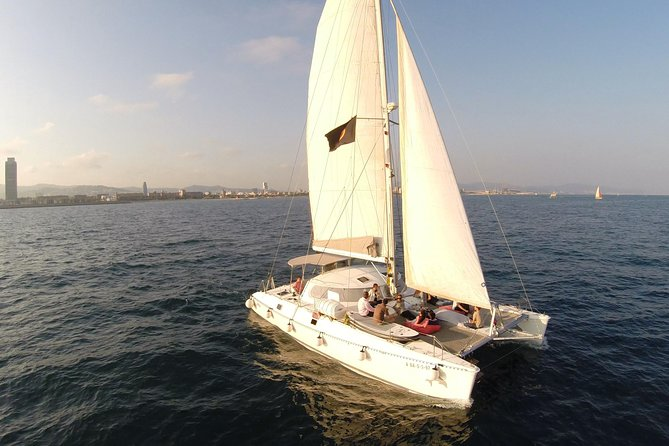 Catamaran Experience 24-28 passengers From Port Olimpic Barcelona