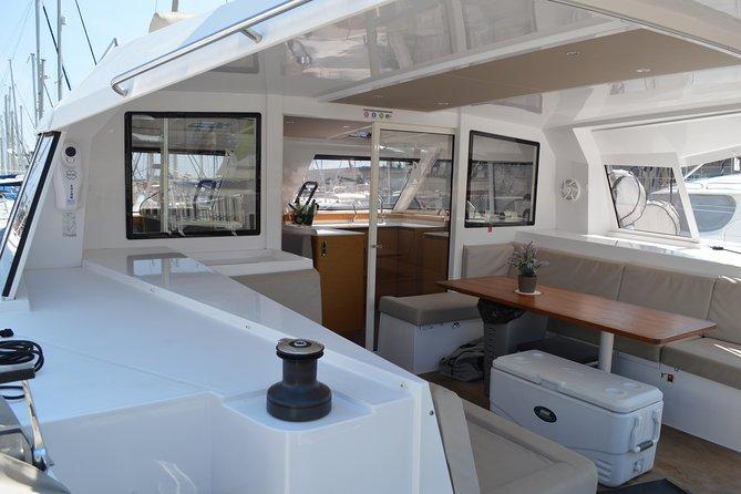 Catamaran Experience 24-28 passengers From Port Olimpic Barcelona