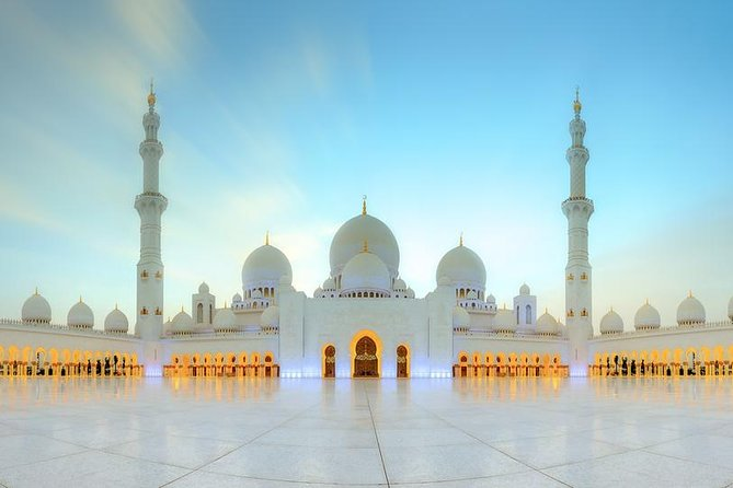 Abu Dhabi sightseeing Tour From Dubai 4x4 Luxury Car