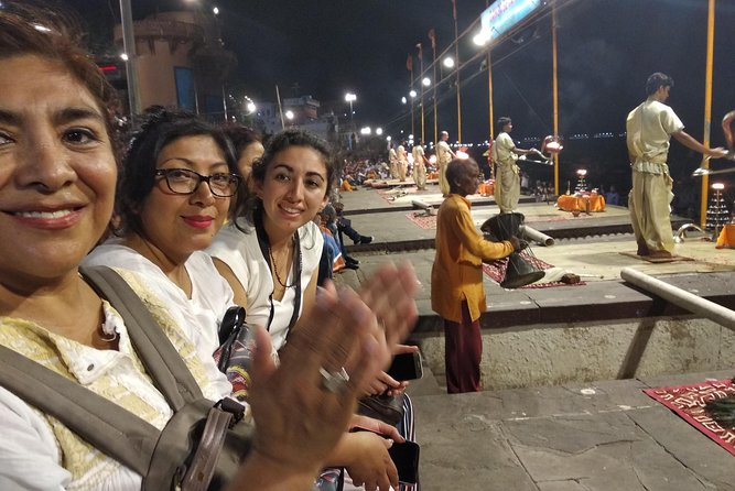 Evening ceremony of Ganges in varanasi with official tour guide