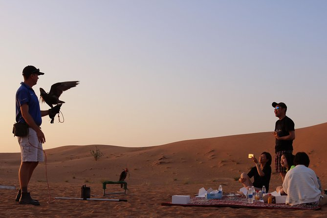 Sunrise Desert Safari with Falcon show & Picnic Breakfast photo 1