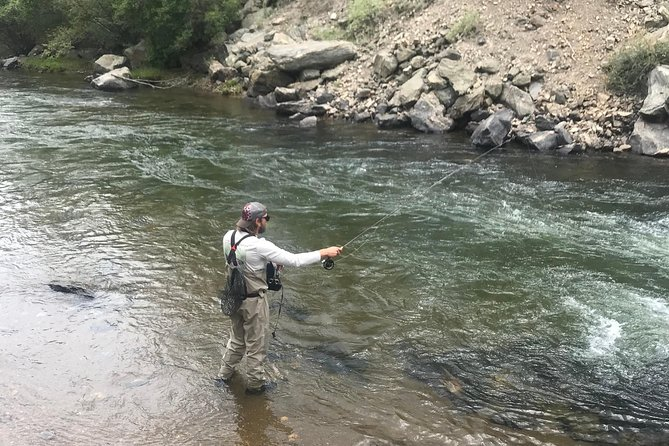Half Day Fly Fishing Lesson on Clear Creek near Denver