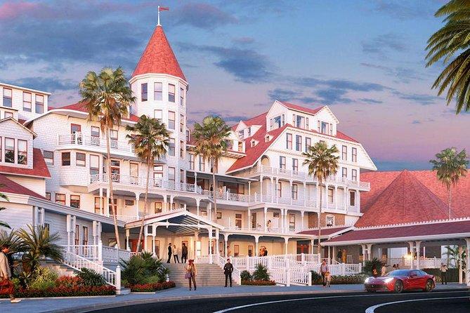 Hotel Del Coronado Entrance.