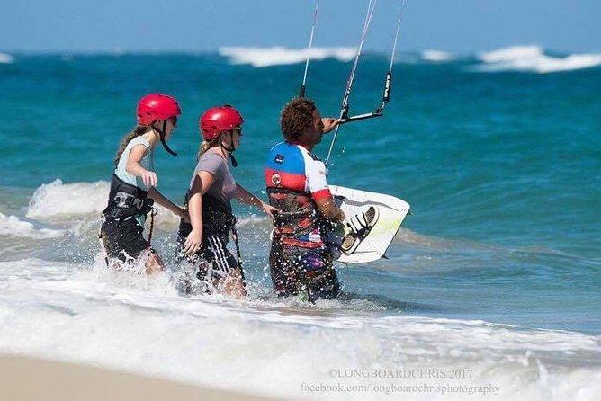 FULL KITE SURFING LESSONS. (Half Day)