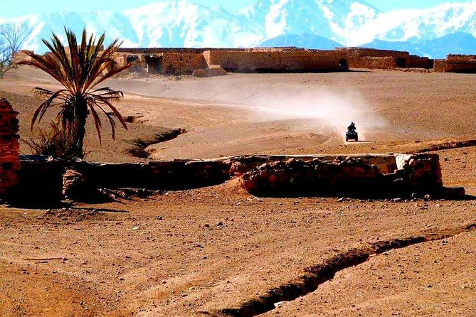 Desert Agafay and Atlas Mountains Day Trip From Marrakech & Quad tour