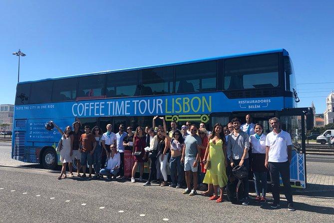 Double-Decker Tour Bus in Belém