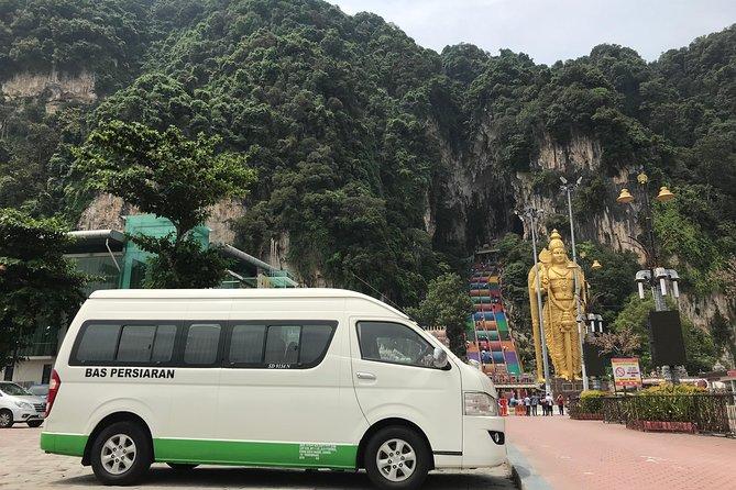 17 or 19 Hrs Kuala Lumpur Flexible Day & Night Van Tour from Singapore